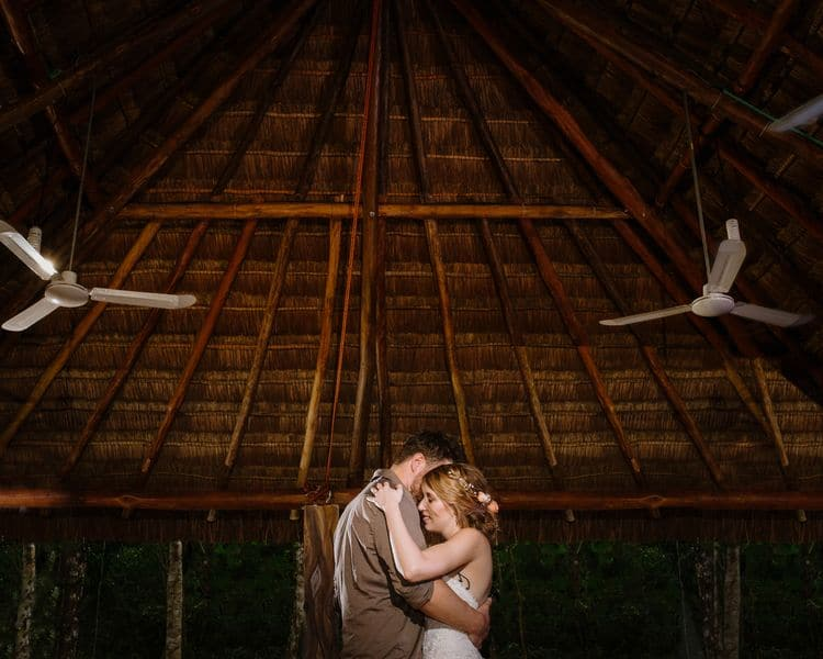 destination wedding in tulum cenote 11