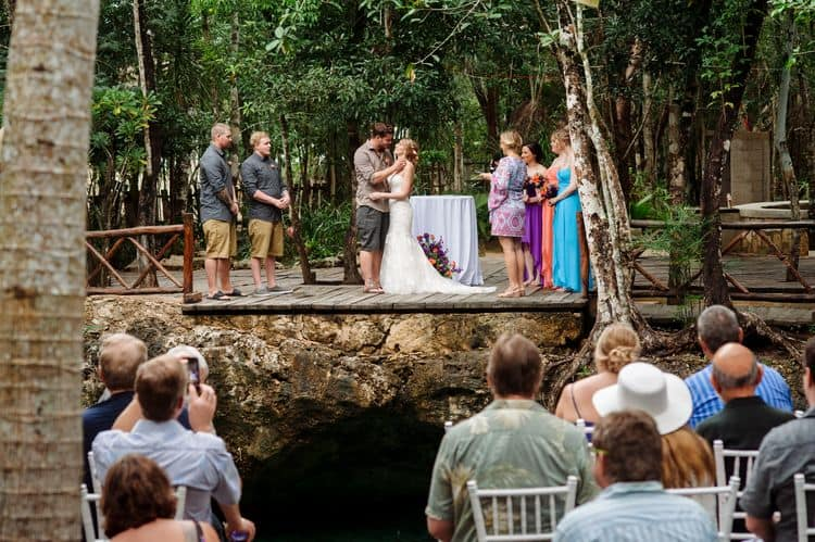 destination wedding in tulum cenote 23