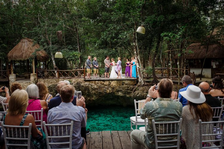 destination wedding in tulum cenote 51