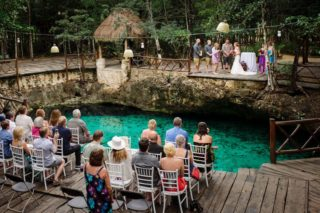 Unique Destination Wedding in Tulum Cenote