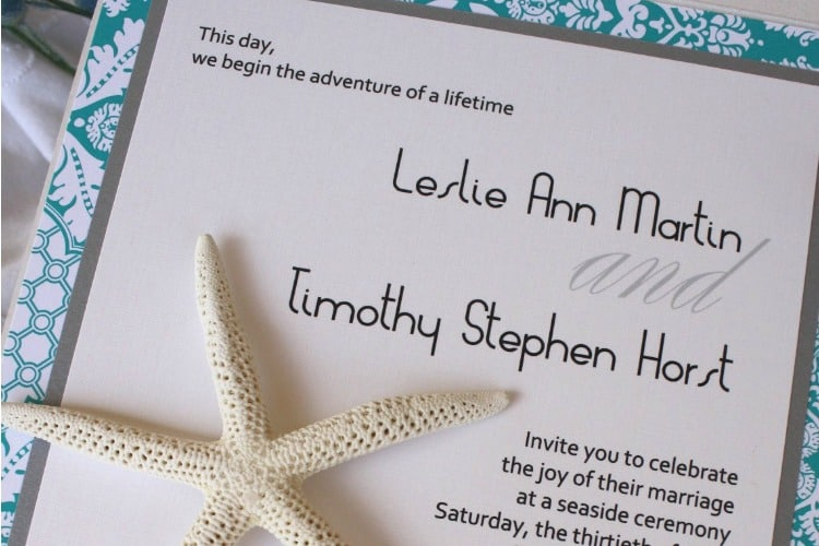 Wording Of Wedding Invitations: Destination Wedding Invitation Wording