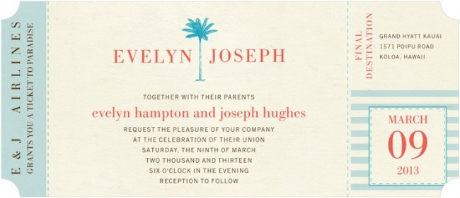 When to Send Destination Wedding Invitations – Save the Date Wording for Destination Wedding