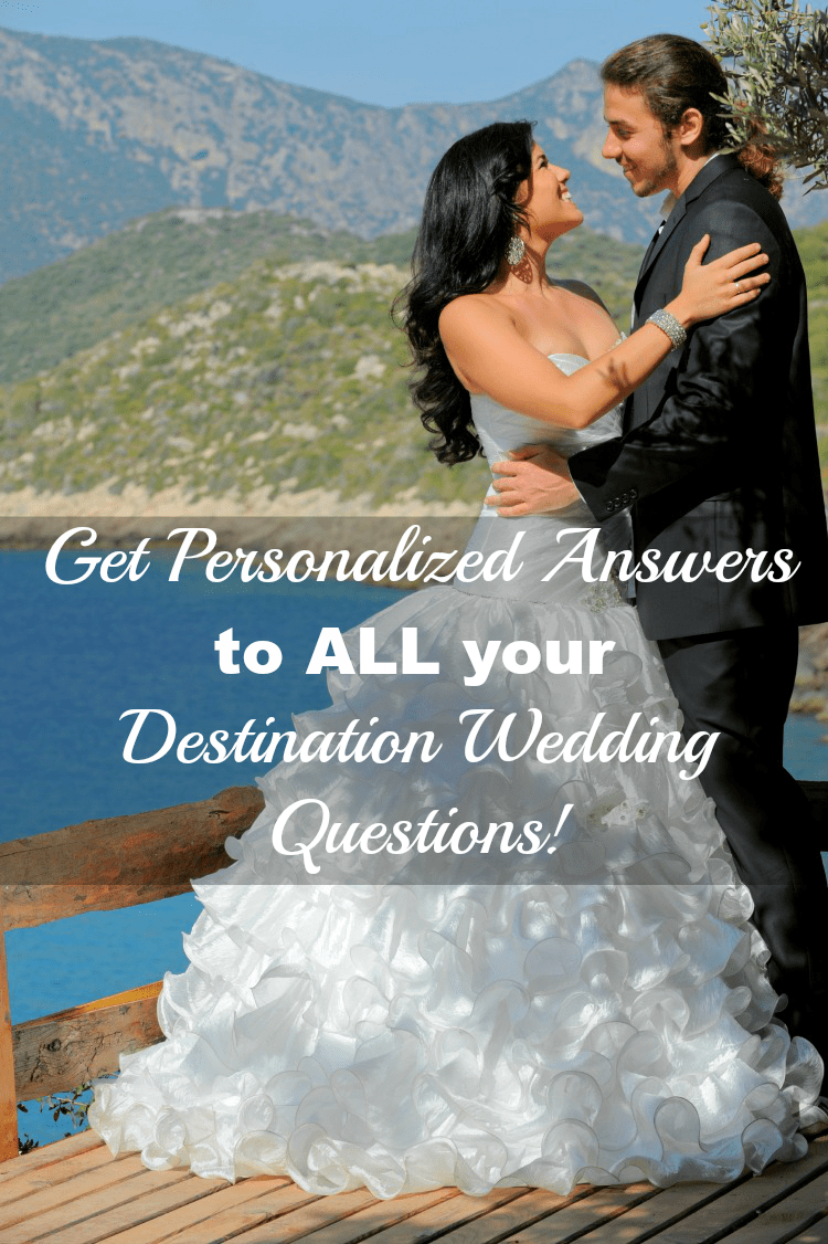 Answers To Your Destination Wedding Questions