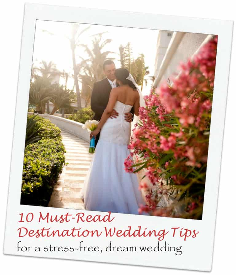 Top 10 destination wedding ideas and tips