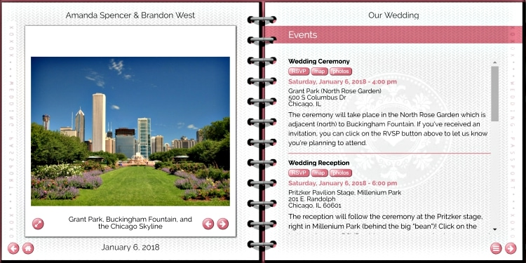 destination wedding website wedsite review 2