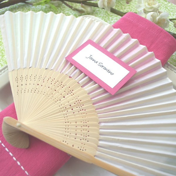 Destination Wedding Welcome Bag Fans