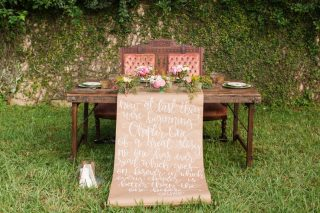 Boho Meets Vintage Romance in this Stunning Elopement Inspiration
