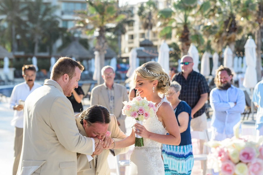 Tips for managing your family's reaction to your destination wedding