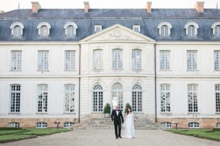A Sophisticated and Stately French Chateau Wedding