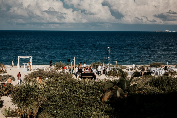 greenery wedding playa mujeres 2