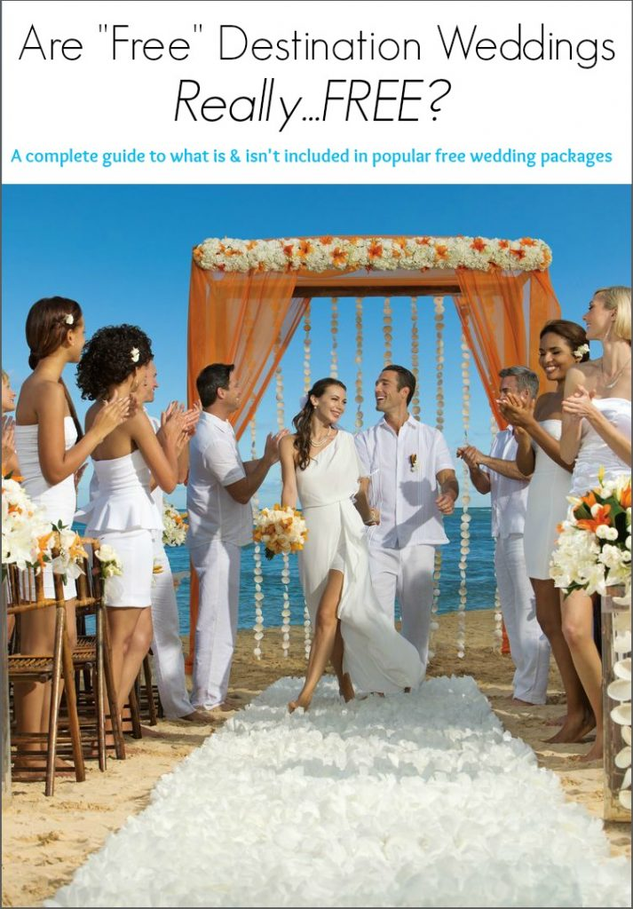 guide to free destination wedding packages