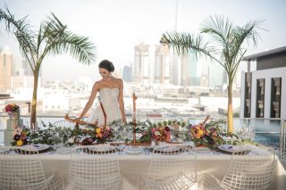 Chic Industrial Wedding in Dubai