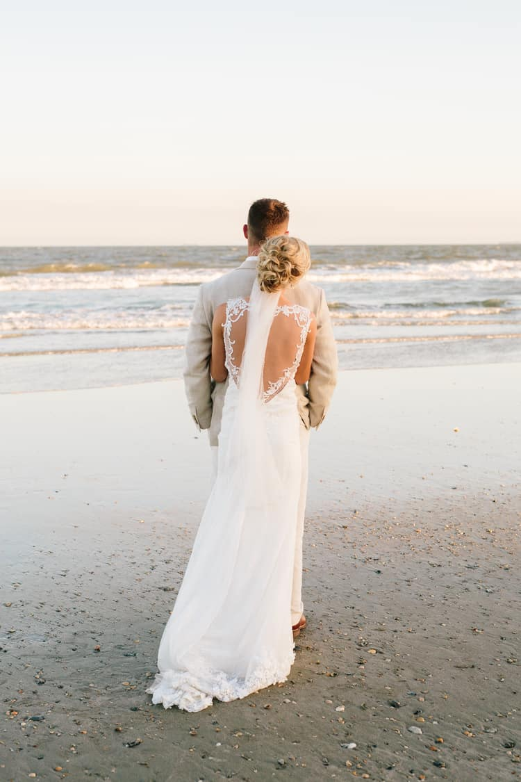 a gorgeous destination wedding at isle of palms in south