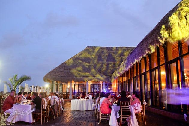 riviera maya wedding reception