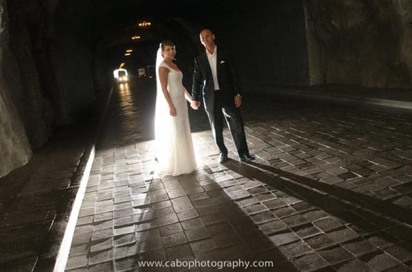 Capella Pedregal Wedding Tunnel
