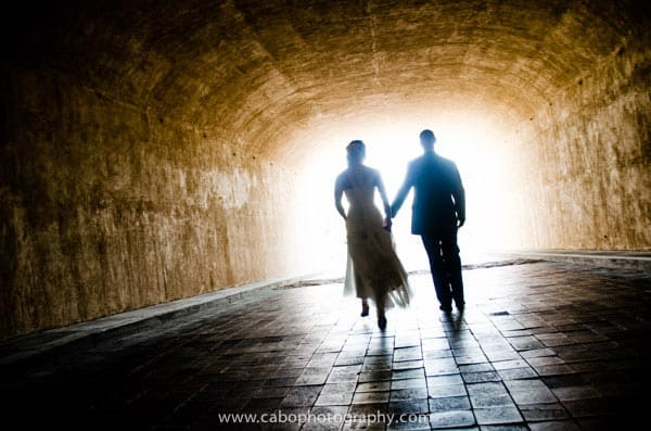 capella pedregal Cabo Wedding Tunnel