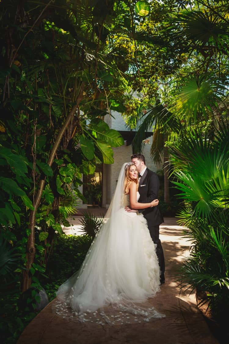 Luxurious Destination Wedding at Dreams Riviera Cancun