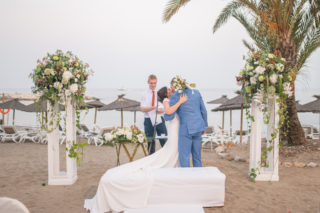 Destination Wedding in Marbella Spain