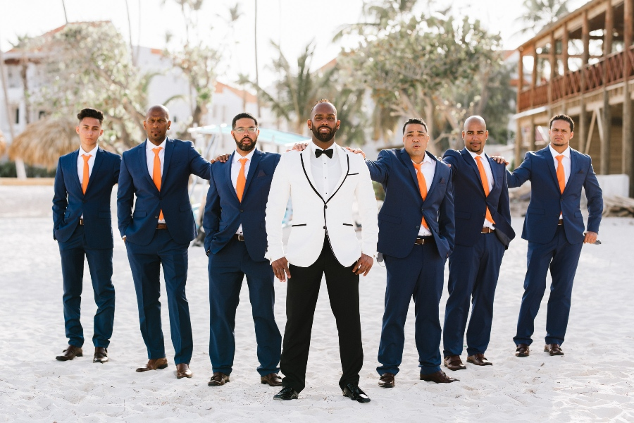 men's beach wedding attire