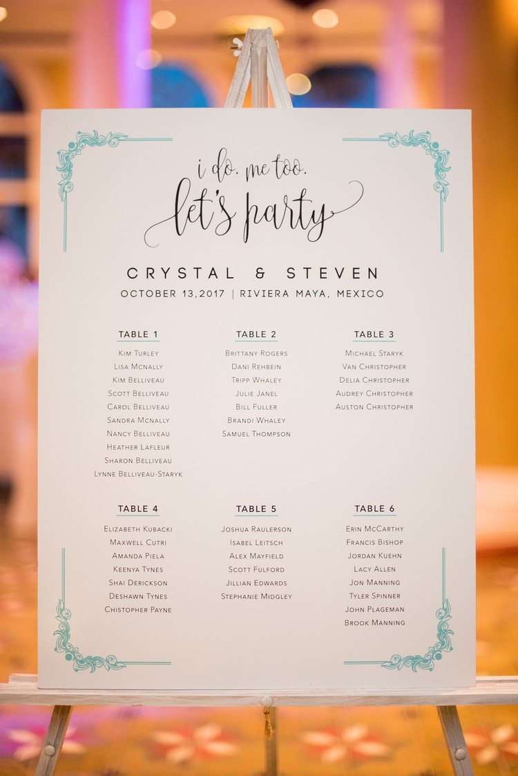 mint green destination wedding 6