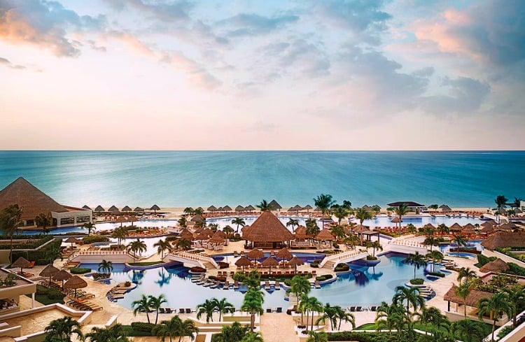 moon palace cancun wedding review
