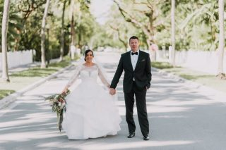 An Old Hollywood Destination Wedding at Hemingway House in Key West