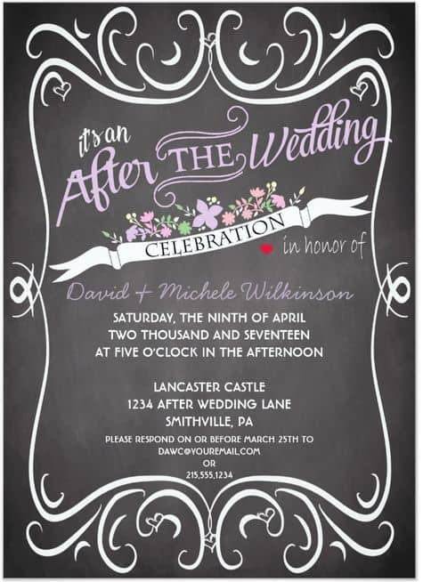 post wedding reception invitations_18