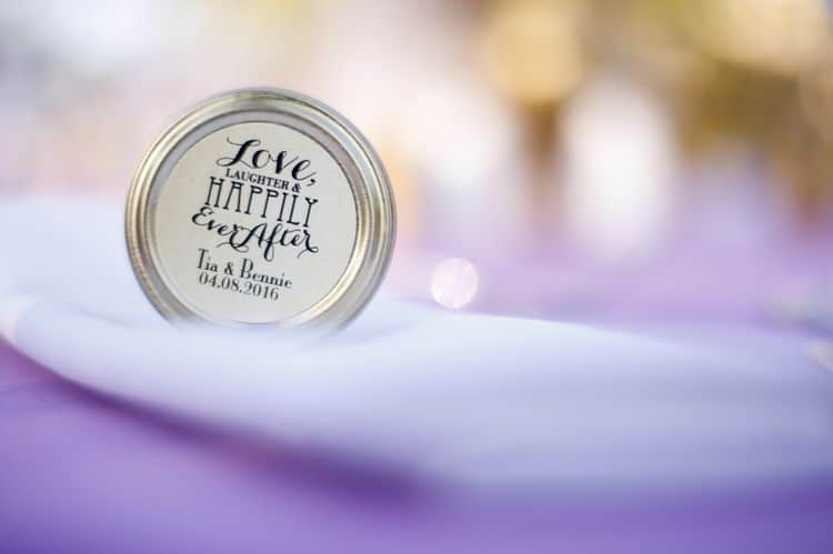 purple and gold destination wedding in Punta Cana 20