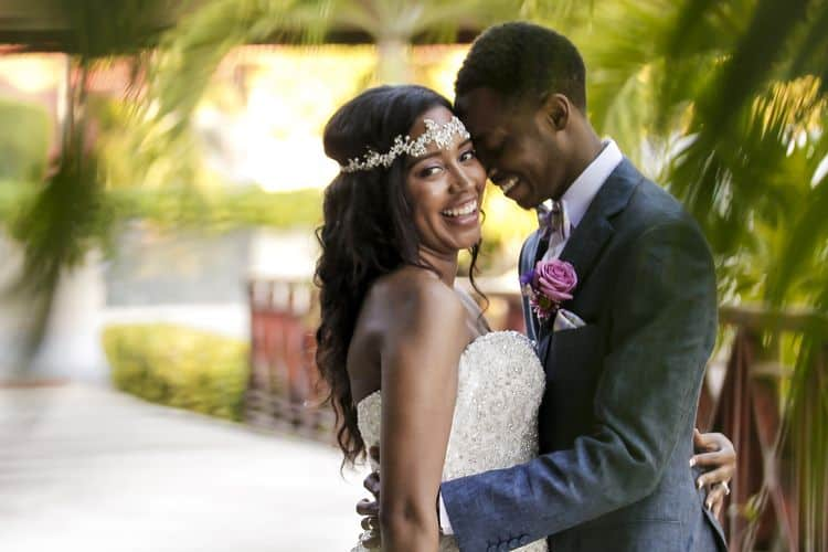 purple and gold destination wedding in Punta Cana_25