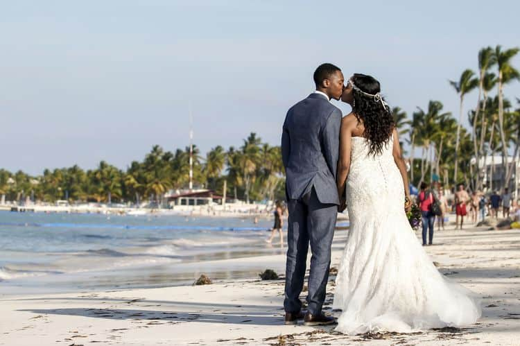 purple and gold destination wedding in Punta Cana 33