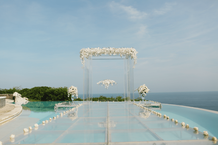 real destination wedding in Bali Karma Kandara