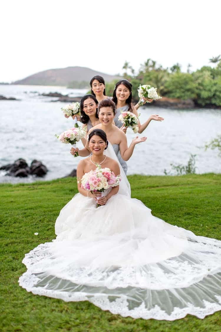 Wedding at Sugarman Estate in Maui