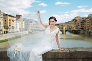 Jaw Dropping Rooftop Views in this Florence Wedding Inspiration Shoot