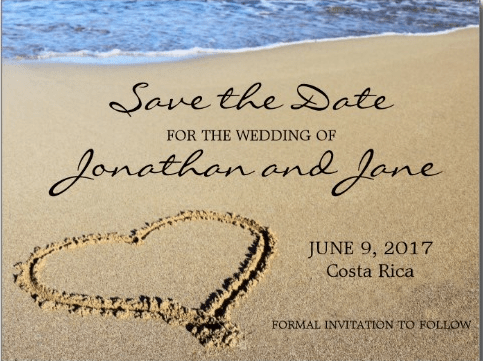 Destination Wedding Save the Date Ideas Destination Wedding Details – Save the Date Wording for Destination Wedding