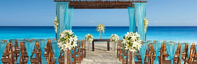 secret resorts free wedding package