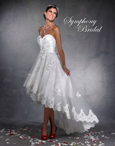 short wedding dresses that are classy sassy