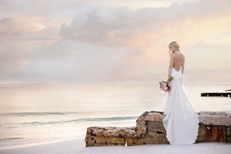 siesta key beach wedding 35