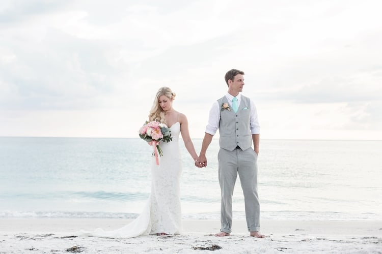 siesta key beach wedding 8