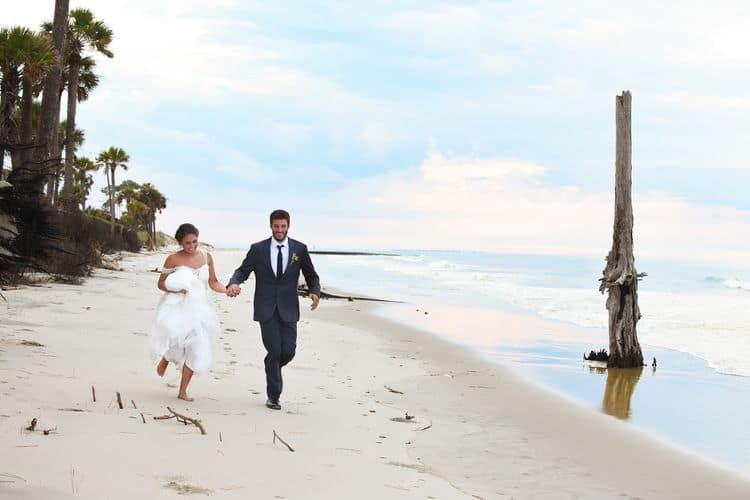 sunrise beach elopement in south carolina