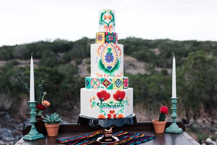 south of the border wedding inspiration 59