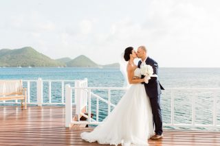 An Intimate St Lucia Destination Wedding