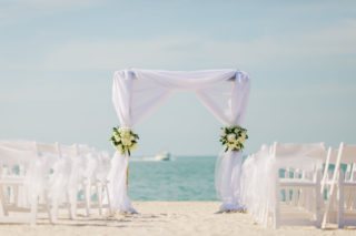 Rustic Chic Sunset Key Wedding