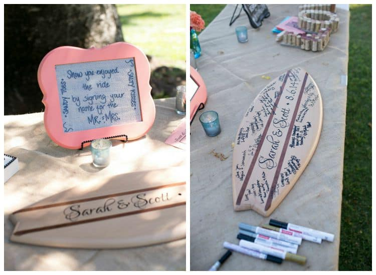 surfboard guestbook alternative