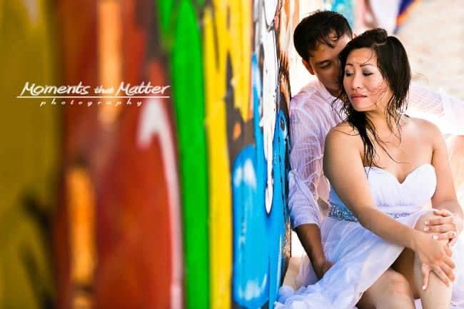 trash the dress shoot in playa del carmen