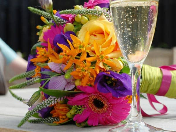 tropical beach wedding bouquets