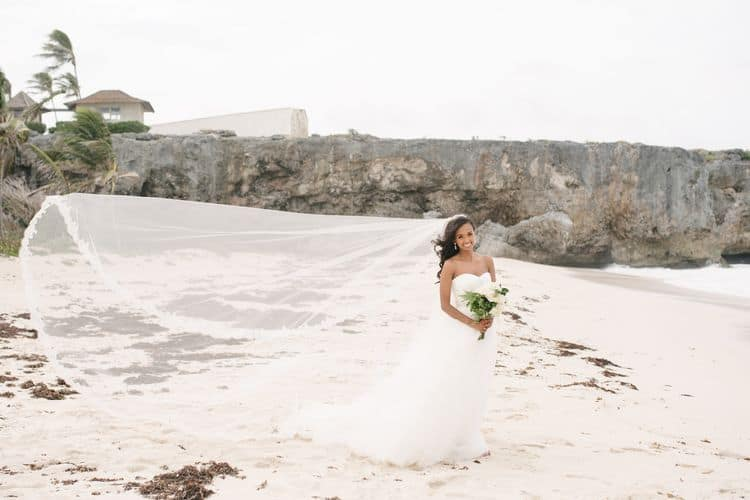 Destination wedding in Barbados