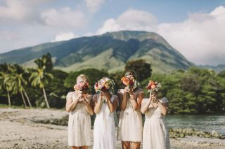 A Beautiful Catholic Destination Wedding in Maui