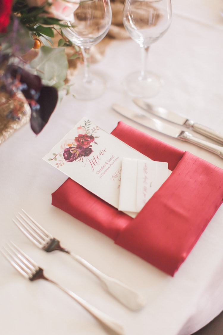 Elegant and Romantic Styled Wedding in Paris France | Destination ...