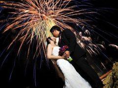 010612 Jen and Richie Fireworks II 240x180