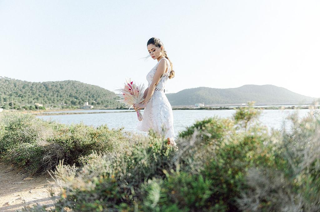 Boho Ibiza destination wedding inspiration 35